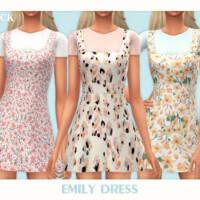 Emily Dress By Black Lily