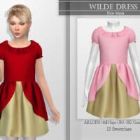 Wilde Dress By Katpurpura