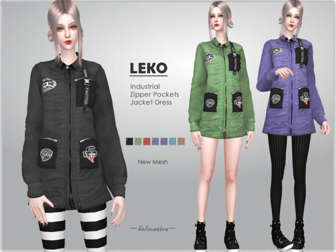Leko Industrial Jacket By Helsoseira