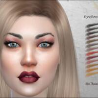 Eyebrows #8 By Coffeemoon