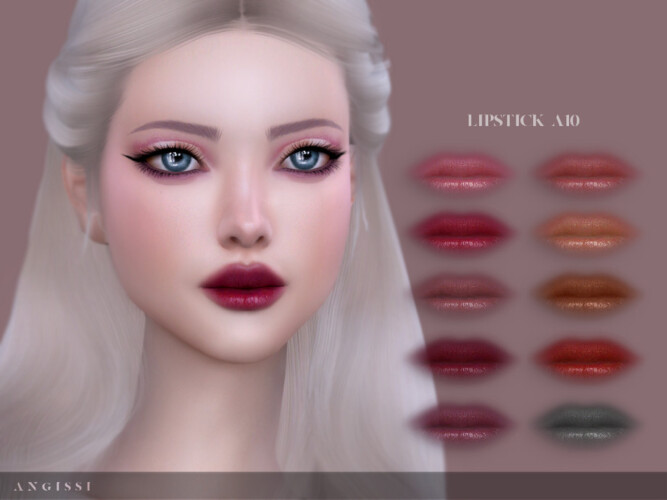 Lipstick A10 By Angissi