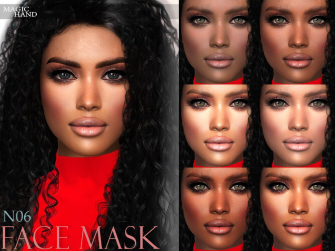 Face Mask N06 By Magichand