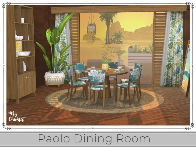 Paolo Dining Room By Chicklet