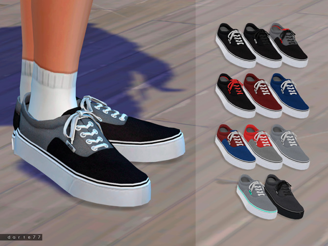 Sims 4 Vans for Females by Darte77 at TSR