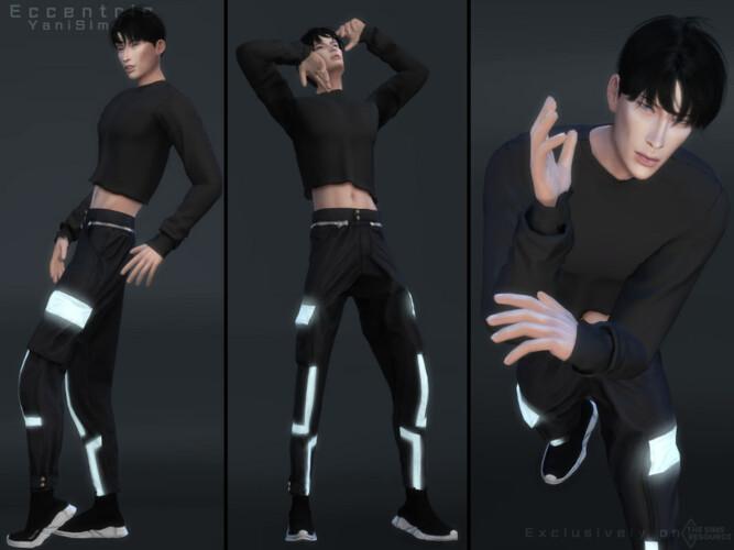 Eccentric (pose Pack) By Yanisim