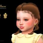 Flower Earrings Toddler By Suzue