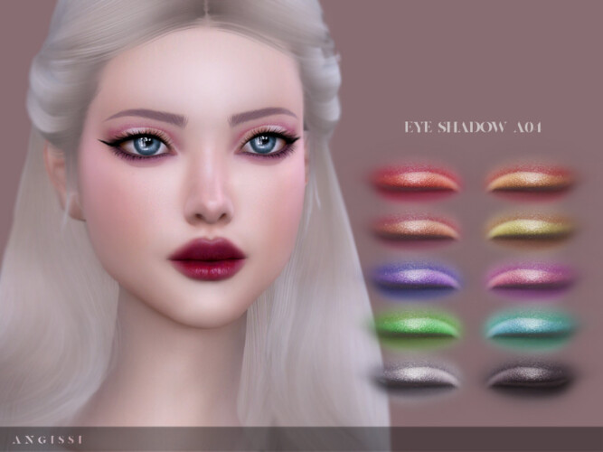 Eyeshadow A04 By Angissi