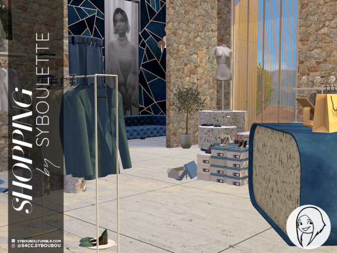 Sims 4 Shopping Set PART 1 by Syboubou at TSR