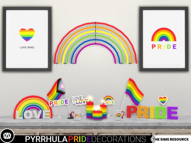 Pyrrhula Pride Decorations By Wondymoon