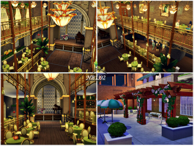 Sims 4 The Perfect Night Tianas Palace by nobody1392 at TSR