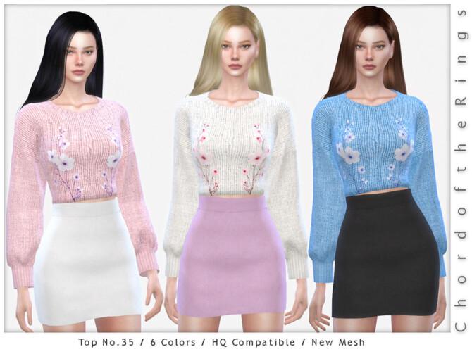 Sims 4 Top No.35 by ChordoftheRings at TSR