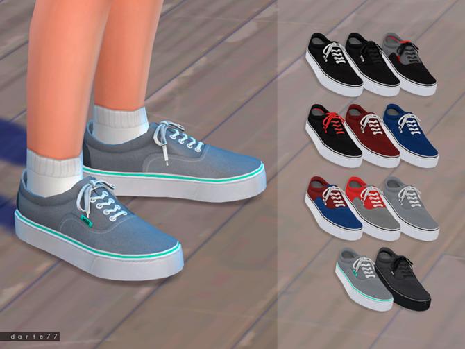 Sims 4 Vans CU by Darte77 at TSR