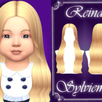 Reina Hairstyle (toddler) By Sylviemy