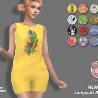 Jumpsuit Radka 2 By Jaru Sims