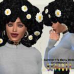 Summer Fro Daisy Wear By Drteekaycee
