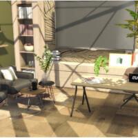 Cozy Office By Lotsbymanal