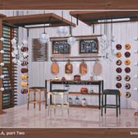 Laila Kitchen Set Part Two By Soloriya