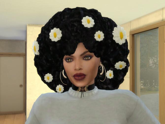 Sims 4 Summer Fro Daisy Wear by drteekaycee at TSR