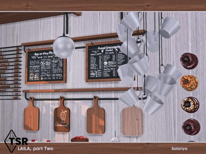 Sims 4 Laila Kitchen Set Part Two by soloriya at TSR