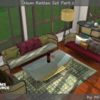 Hum Rattan Set Part.1 By Mincsims