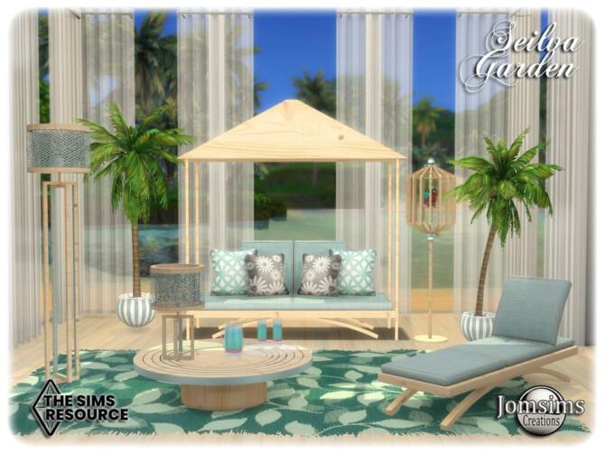 Sims 4 Seilva Garden by jomsims at TSR