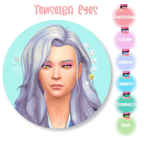 Tenseiga Eyes By Dark_devious_fox
