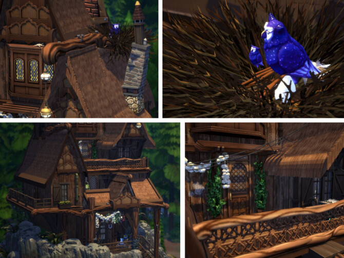 Sims 4 Owls Cliff by VirtualFairytales at TSR