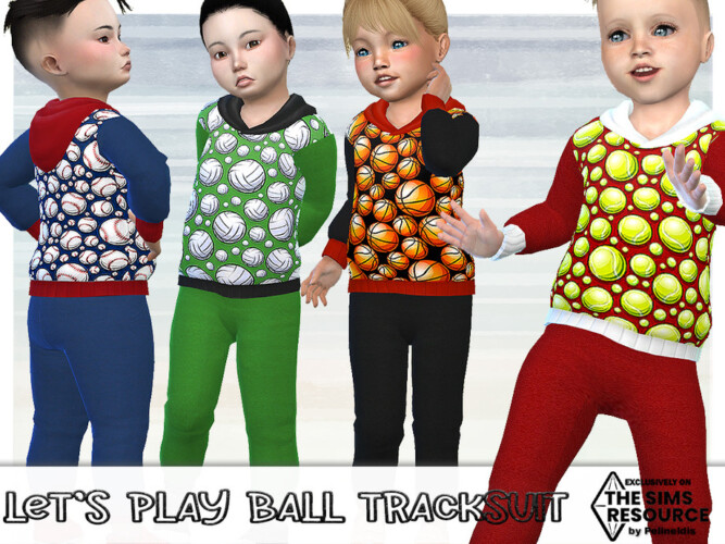 Let's Play Ball Tracksuit By Pelineldis