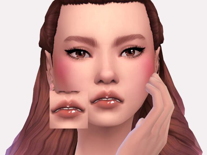 Sims 4 Runa Lipgloss by Sagittariah at TSR