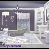 Country Bathroom By Seimar8
