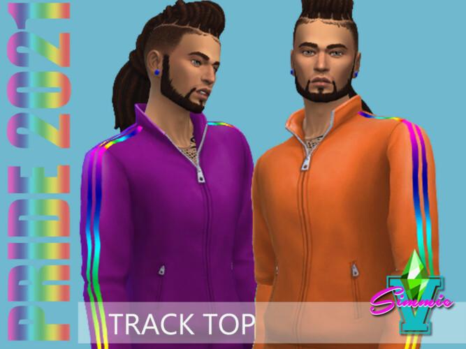 Pride21 Track Top By Simmiev