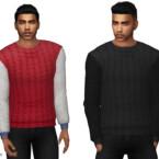Comfy Mens Designer Sweatshirt By Cherryberrysim