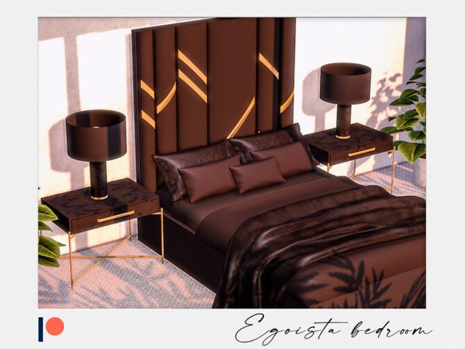 Sims 4 Egoista bedroom part 1 by Winner9 at TSR