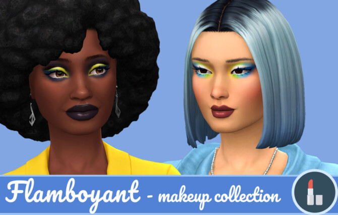 Flamboyant Summer Makeup Collection