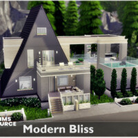 Modern Bliss A-frame Cabin By Nobody1392