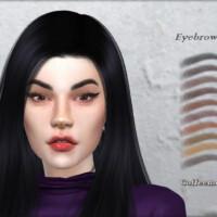 Eyebrows #11 By Coffeemoon