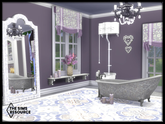 Sims 4 Country Bathroom by seimar8 at TSR