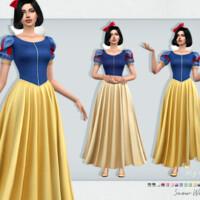 Snow White Dress By Sifix