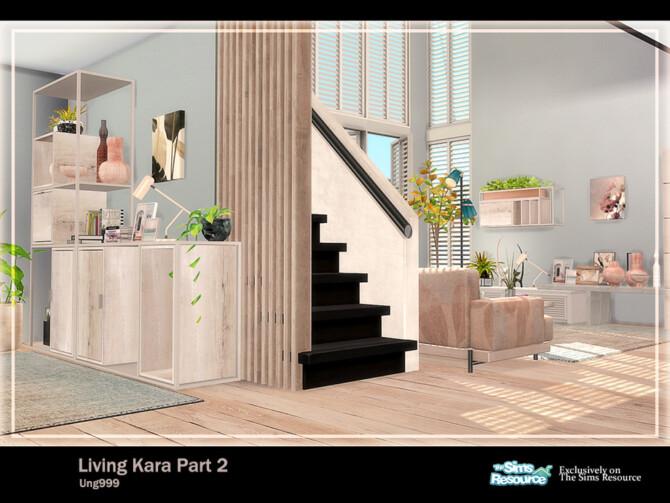 Sims 4 Living Kara Part 2 by ung999 at TSR
