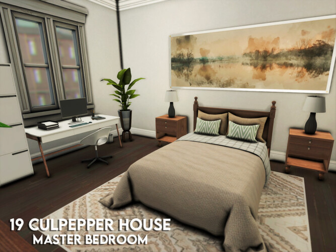 19 Culpepper House Master Bedroom By Xogerardine
