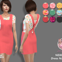 Dress Natalia 1 By Jaru Sims