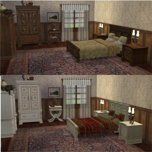 Conversion Ts2 To Ts4 Royal Bedroom Vitasims 2