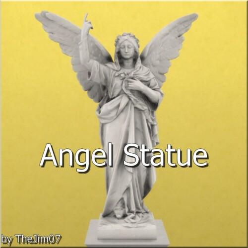 Angel Statue By Thejim07