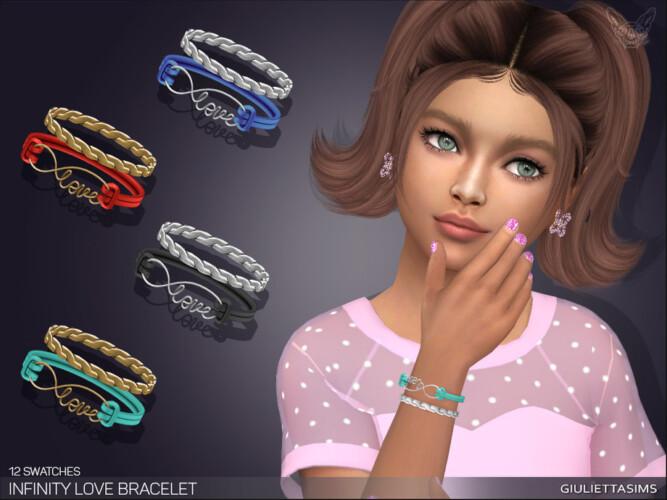 Infinity Love Bracelet For Kids By Feyona