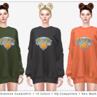 Oversize Sweatshirt By Chordoftherings