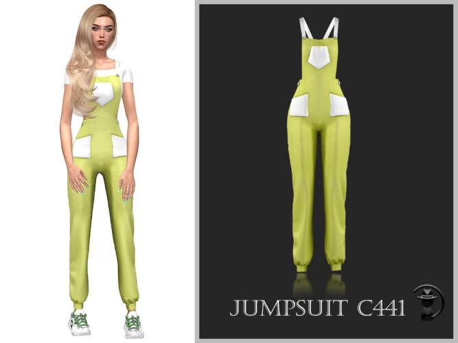 Jumpsuit C441 By Turksimmer