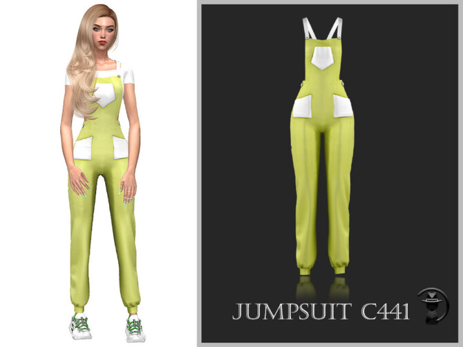 Sims 4 Jumpsuit C441 by turksimmer at TSR