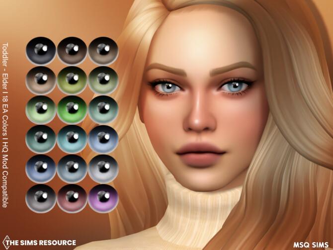 Sims 4 Eyes NB23 at TSR
