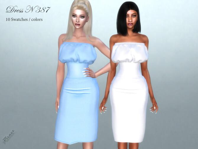 Sims 4 DRESS N 387 by pizazz at TSR