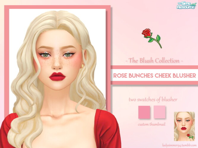 Rose Bunches Cheek Blusher By Ladysimmer94